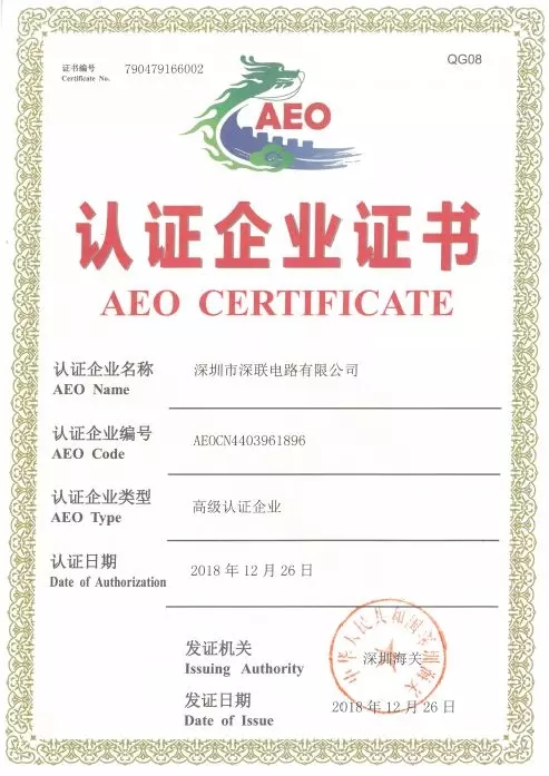 AEO Advanced Certification